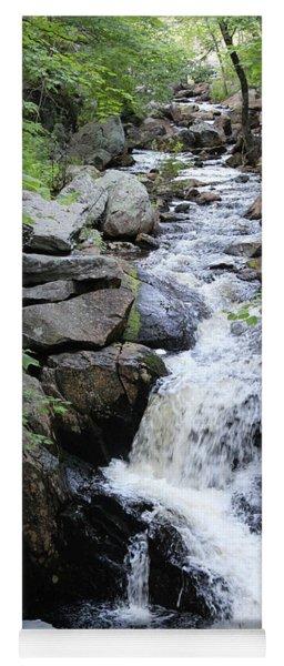 Waterfall Pillsbury State Park Yoga Mat