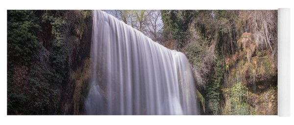 Waterfall With The Silk Effect Yoga Mat