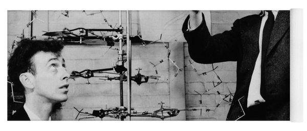 Watson And Crick Yoga Mat