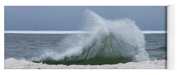 Wave Of Texture Yoga Mat