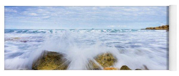 Wave Splash Yoga Mat