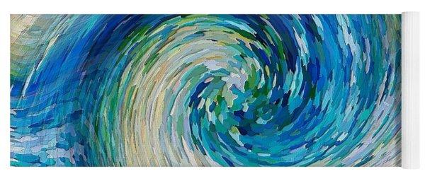 Wave To Van Gogh II Yoga Mat
