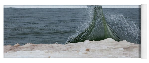 Waves Of Lake Michigan Yoga Mat