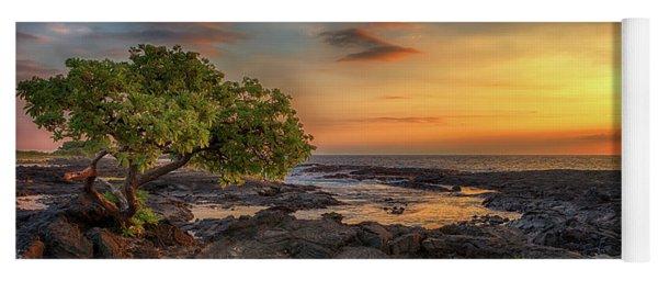 Wawaloli Beach Sunset Yoga Mat