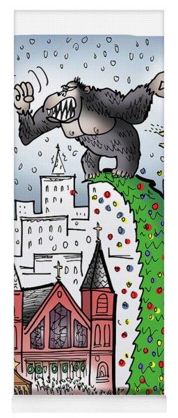 King Kong Kristmas Yoga Mat