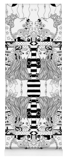 We Make Believe - A Number Of Perspectives Yoga Mat