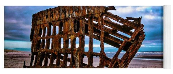 Weathered Shipwreck Yoga Mat