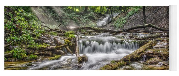 Weaver's Creek Falls Yoga Mat