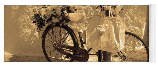 Wedding Bike Yoga Mat