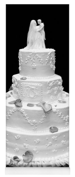 Wedding Cake Yoga Mat