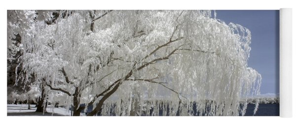 Weeping Willow In Infrared Yoga Mat