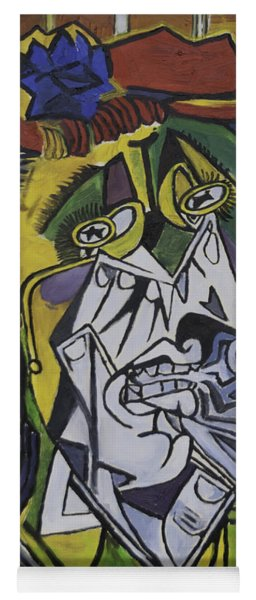 Picasso's Weeping Woman Yoga Mat