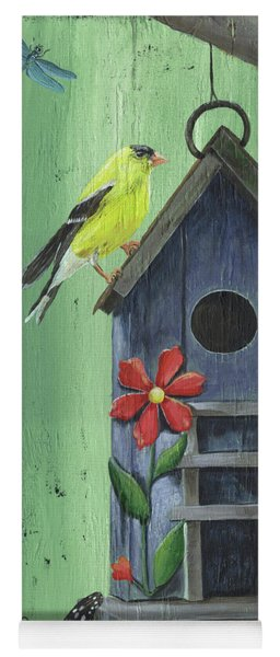 Welcome Goldfinch Yoga Mat