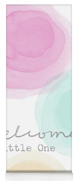 Welcome Little One- Art By Linda Woods Yoga Mat