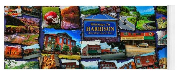Welcome To Harrison Arkansas Yoga Mat
