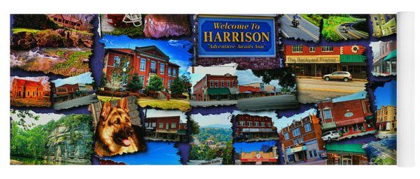 Welcome To Harrison Arkansas Yoga Mat