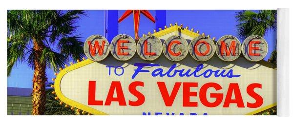 Welcome To Las Vegas Yoga Mat