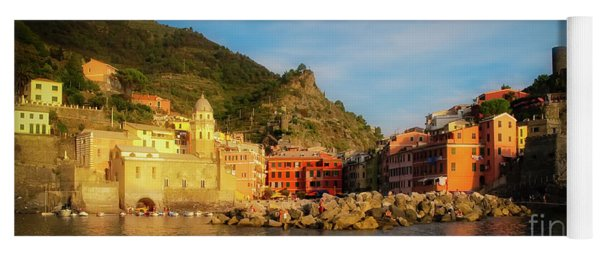 Welcome To Vernazza Yoga Mat