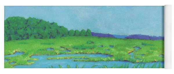 Wellfleet Wetlands Yoga Mat