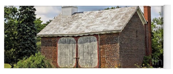 Werley's Corner Schoolhouse/barn Yoga Mat
