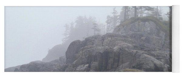 West Coast Landscape Ocean Fog I Yoga Mat