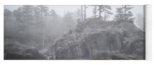 West Coast Landscape Ocean Fog IIi Yoga Mat