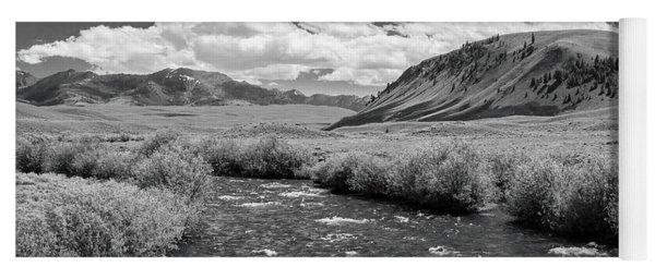 West Fork, Big Lost River Yoga Mat