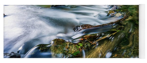 West Fork Water Over Log Yoga Mat