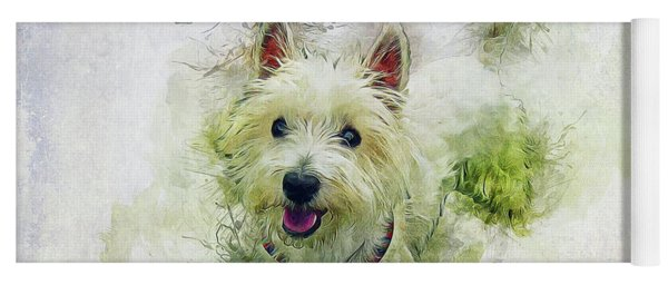 West Highland White Terrier Yoga Mat