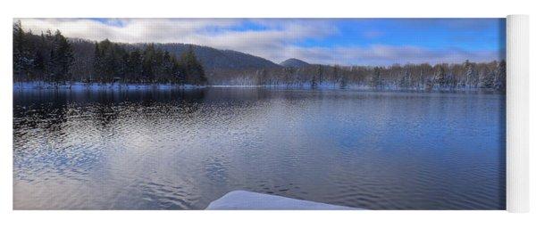 West Lake In November Yoga Mat