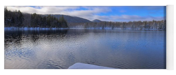 West Lake In November Yoga Mat
