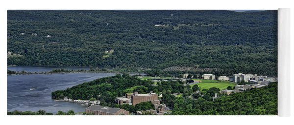 West Point From Storm King Overlook Yoga Mat