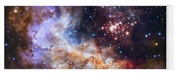 Westerlund 2 - Hubble 25th Anniversary Image Yoga Mat