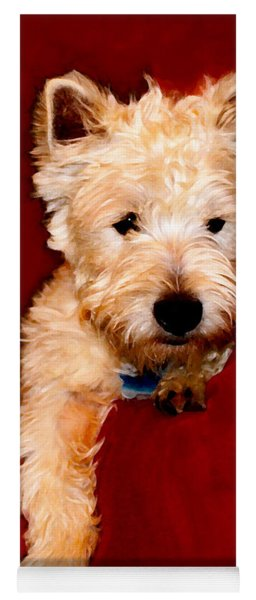 Westie Boy Yoga Mat