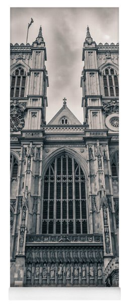 Westminister Abbey Bw Yoga Mat