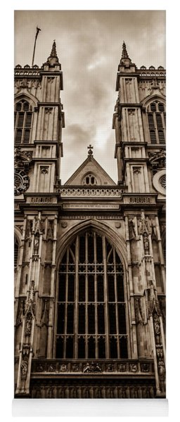 Westminister Abbey Sepia Yoga Mat