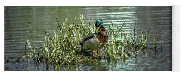 Wet Green #g2 Yoga Mat