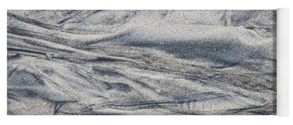 Wet Sand Abstract I Yoga Mat