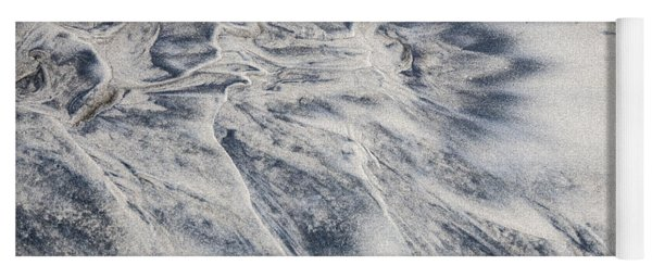 Wet Sand Abstract II Yoga Mat