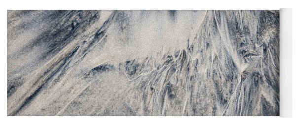 Wet Sand Abstract IIi Yoga Mat