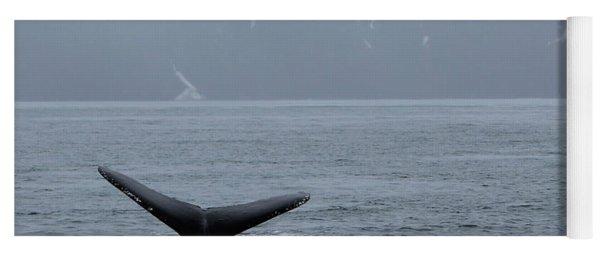 Whale Fluke Yoga Mat