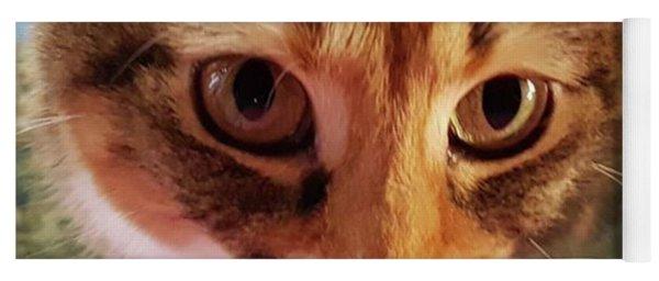 Hungry Eyes Yoga Mat