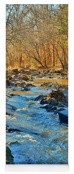 Yoga Mat featuring the photograph What Streams Are Made Of by Lisa Wooten