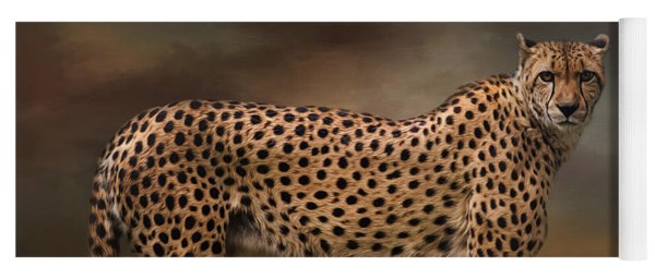 What You Imagine - Cheetah Art Yoga Mat