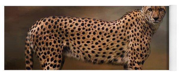 What You Imagine - Cheetah Art Yoga Mat