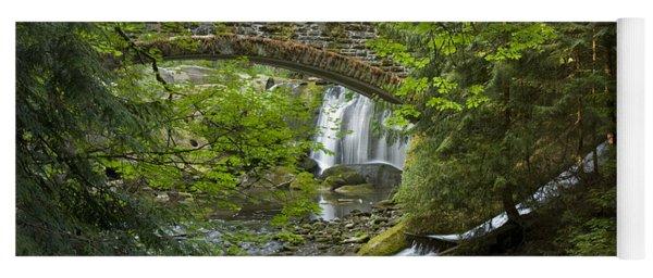 Whatcom Falls Bridge Yoga Mat