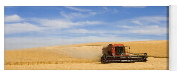 Wheat Harvest Yoga Mat