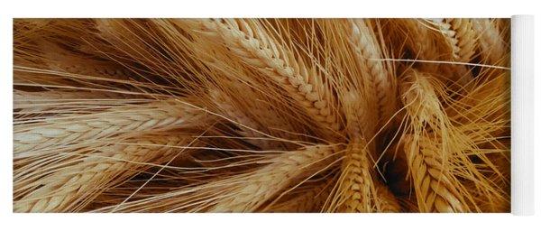 Wheat In The Sunset Yoga Mat