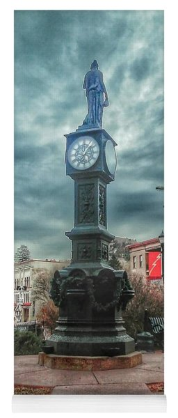 Wheeler Town Clock Yoga Mat
