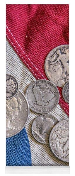 When Coins Were Silver Yoga Mat